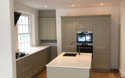 Fresh new kitchen fitting in Dartmouth